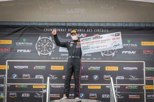 #16 L'Espace Bienvenue FRA BMW M2 CS Racing Ricardo VAN DER ENDE  NLD   TC, Podium, Race 2